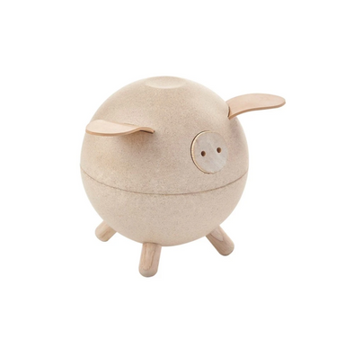 Plan Toys Wooden Piggy Bank on Design Life Kids