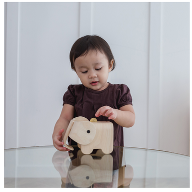 Plan Toys Elephant Bank on Design Life Kids