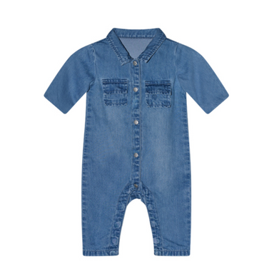 I Dig Denim Rowan Denim Overall on Design Life Kids