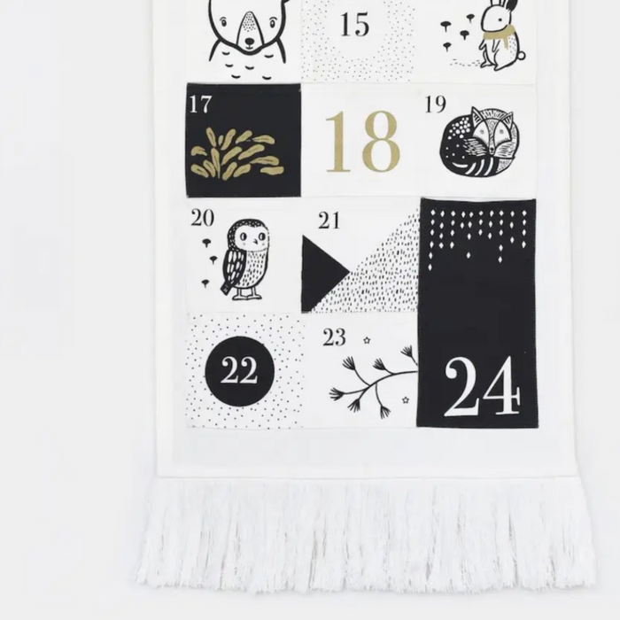 Wee Gallery Advent Calendar on Design Life Kids