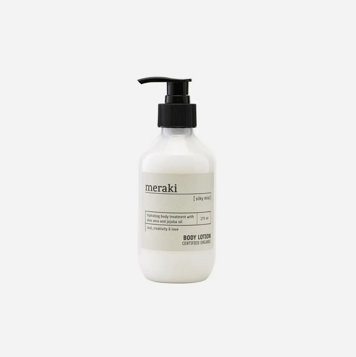 Meraki Silky Mist Soap and Lotions on Design Life Kids