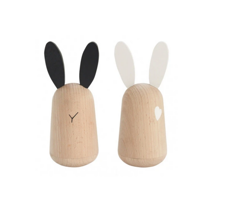 Kukkia Wooden Usagi Bunny Set on DLK