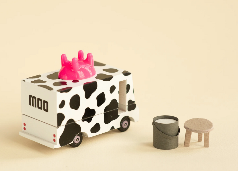 Candylab Milk Van Candycar Toy on DesignLifeKids