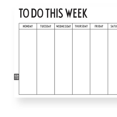 Design Letters Weekly Planner on Design Life Kids