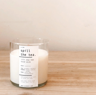 Alibi Spill the Tea Candle on Design Life Kids