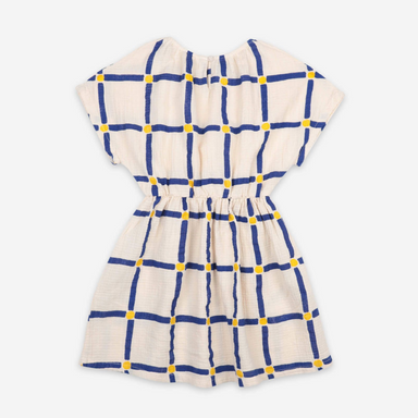 Bobo Choses Cube All Over Woven Dress on Design Life Kids