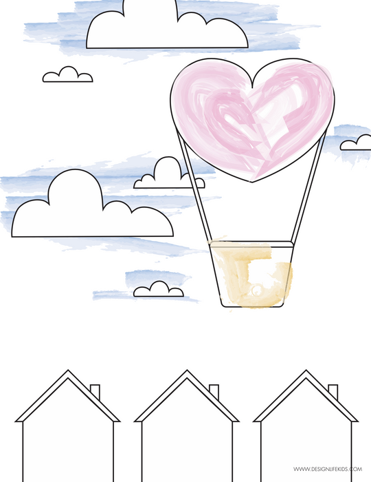 free Valentine's Day Coloring and Activity Book Printable on Design Life Kids