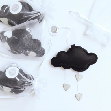 LUXE MINI HEART CLOUD MOBILE ON DLK
