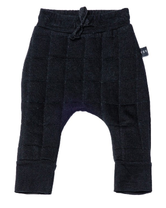 Huxbaby QUILTED DROP CROTCH PANT ON DLK