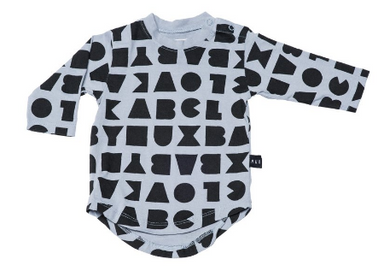 Huxbaby BLOCK LONG SLEEVE TEE ON DLK