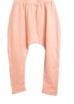 TELEGRAPH AVE. DUSTY ROSE HAREM PANT ON DLK