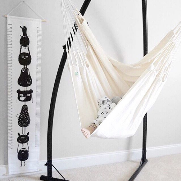 La Siesta Modern Hammock Chair on DLK