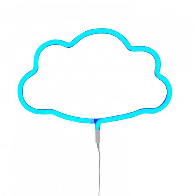 A Little Lovely Company LED Neon Style Cloud Light on DLK