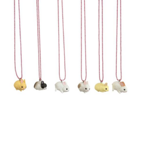 Pop Cutie Japanese Bunny Necklace on DLK