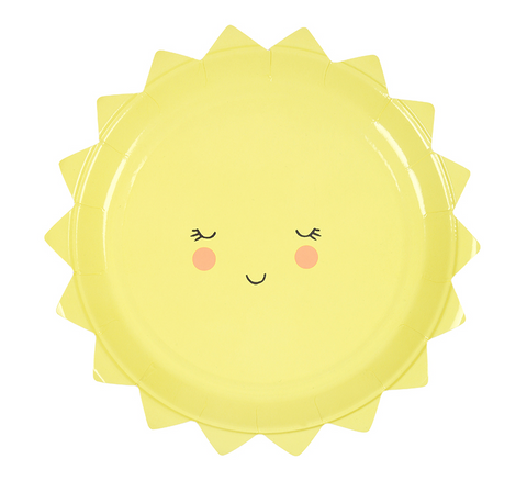 Meri Meri Kawaii Sun Party Plates on DLK