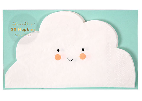 CLOUD PAPER NAPKINS