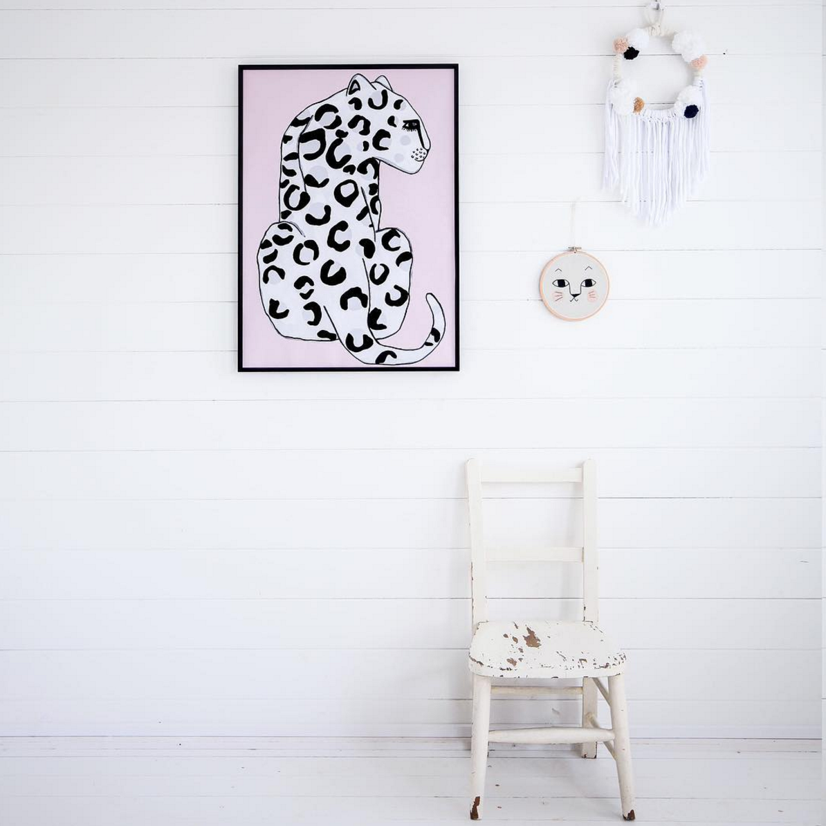 Wonder & Rah Leopard Print Poster on DLK