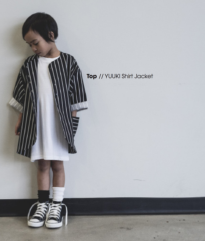 Meme Kids Yuuki Shirt Jacket on DLK