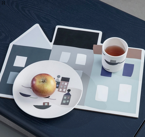 Ferm Living Seaside Dinner Place Mat on DLK | designlifekids.com