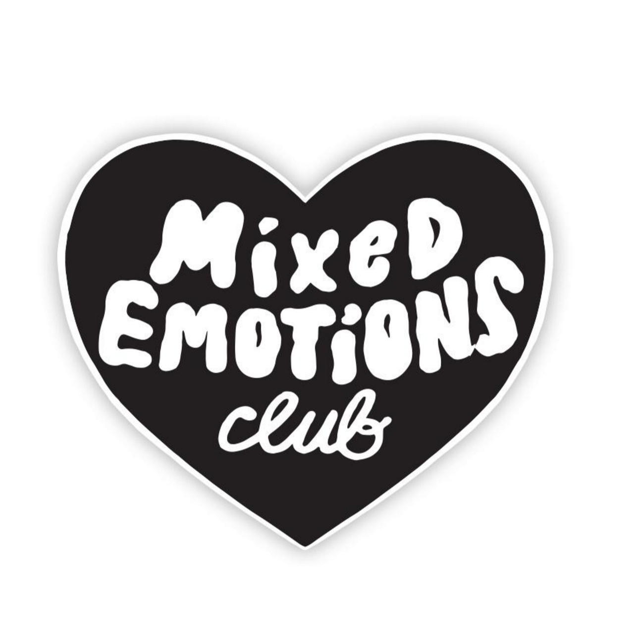 Tattly Mixed Emotions Club Tattoo on DLK | designlifekids.com