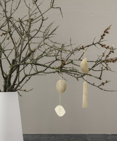 Ferm Living Twin Eye Brass Ornaments on DLK | designlifekids.com