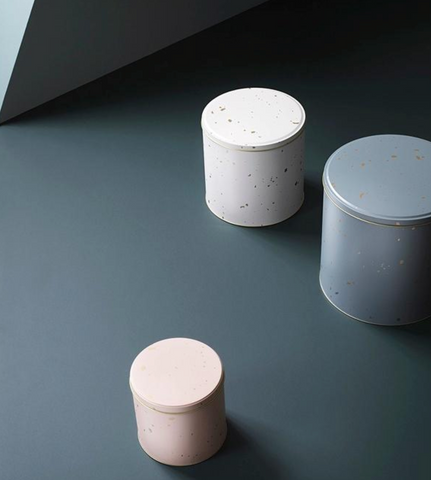 Ferm Living Round Tin Box Set on DLK | designlifekids.com
