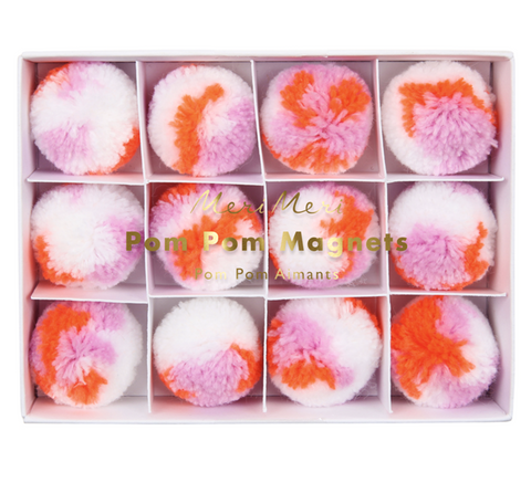Meri Meri Pom Pom Magnets on DLK | designlifekids.com