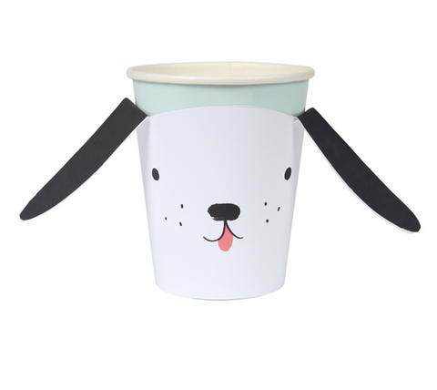Meri Meri Floppy Eared Dog Cups on DLK | designlifekids.com