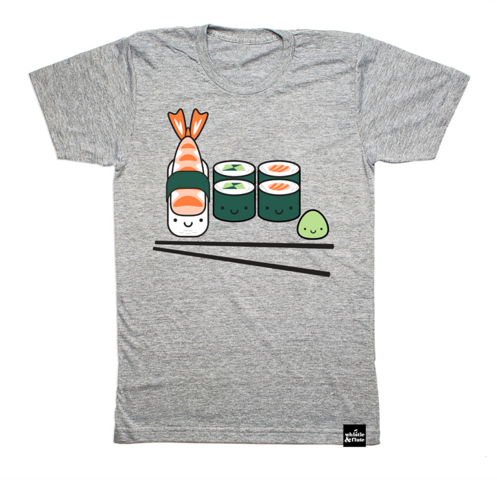 Adult Kawaii Sushi T-Shirt