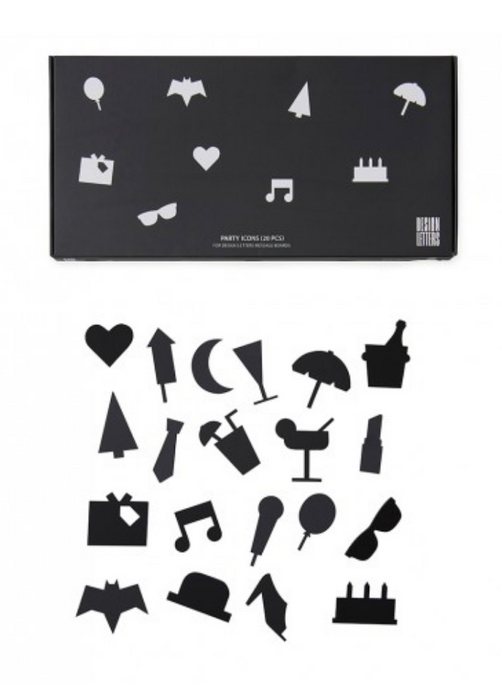 Design Letters Message Board Icon Sets on DLK | Designlifekids.com