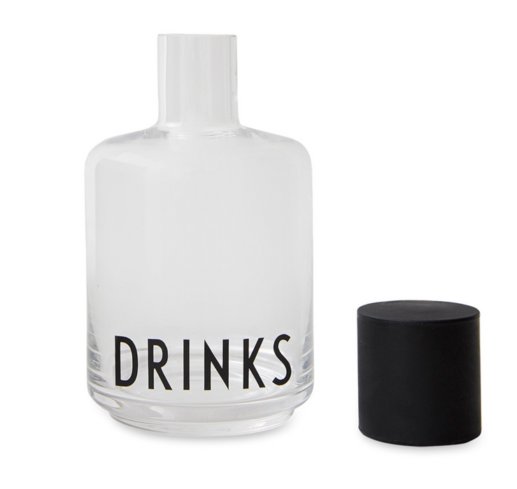 Design Letters Glass Drinks Carafe on DLK | designlifekids.com
