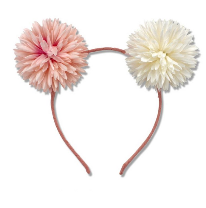 Milk and Soda Dahlia Headband on DLK | designlifekids.com
