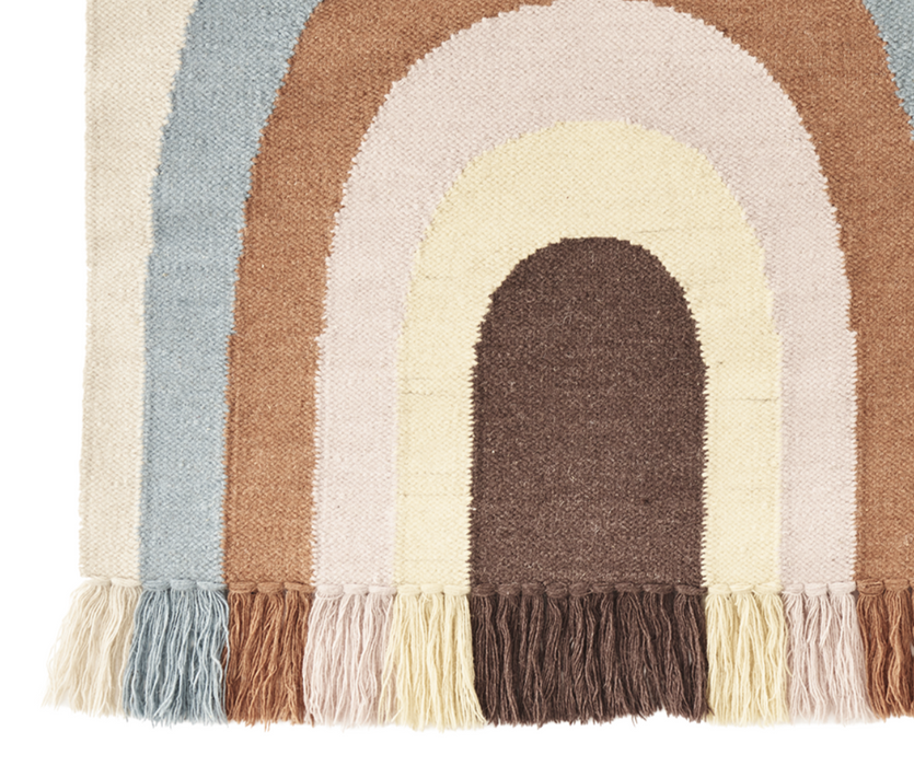 OYOY Living Follow the Rainbow Wall Rug on Design Life Kids