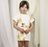 Mini Rodini Banana AOP Dress on DLK | designlifekids.com
