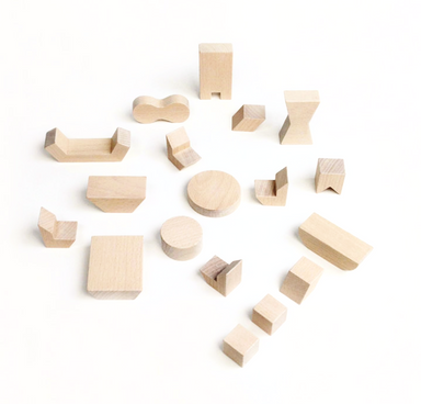 Minimalist Wooden Dollhouse Furniture on DLK | designlifekids.com