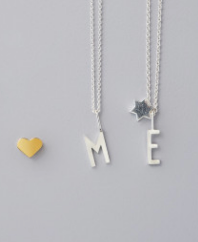 Design Letters Archetype Letter Necklace