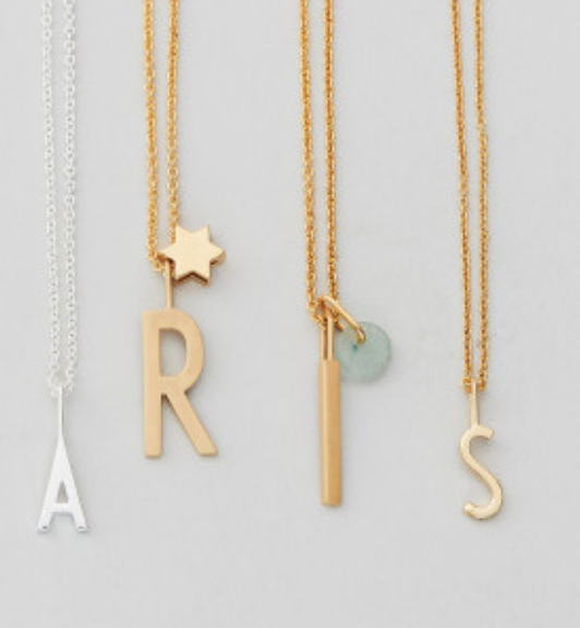 Archetype Letter Necklace & Charms