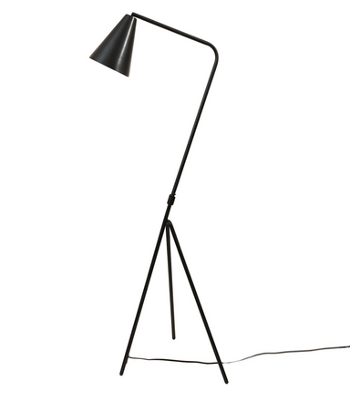 Bloomingville Black Metal Floor Lamp on Design Life Kids