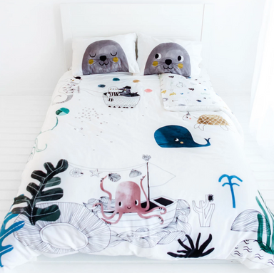 Rookie Humans Underwater Love Bedding on Design Life Kids