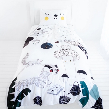 Rookie Humans Woodland Dreams Bedding on Design Life Kids