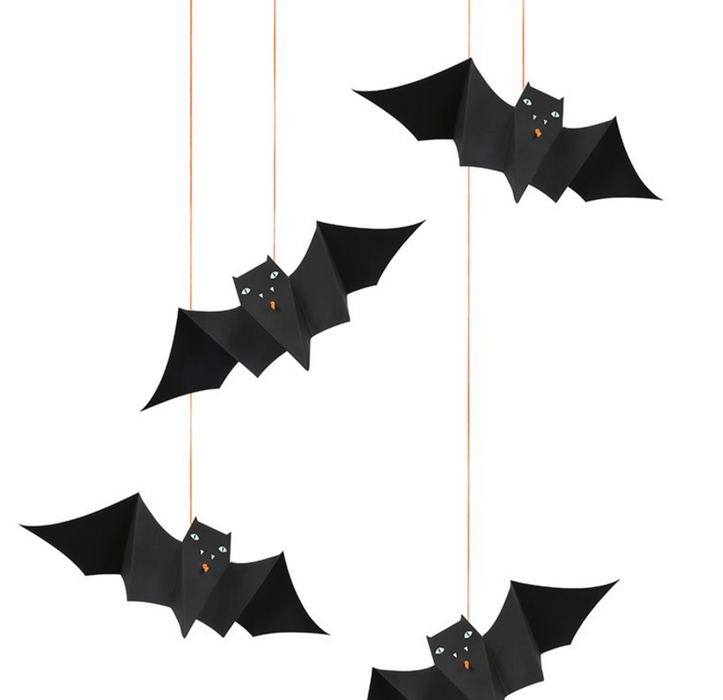 Meri Meri Hanging Bat Mobile Decoration on Design Life Kids