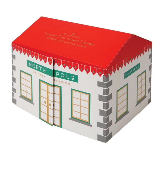 Meri Meri Wooden Railway Advent Calendar on Design Life Kids