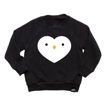 Whistle and Flute Penguin Sweatshirt on Design Life Kids
