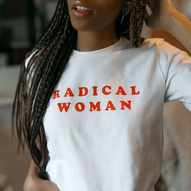 Radical Girl Gang Radical Woman Shirt on Design Life Kids