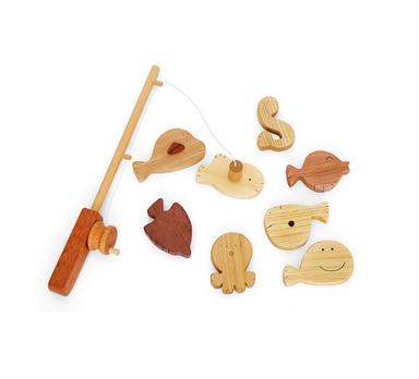 Soopsori Wooden Fishing Play Set on Design Life Kids
