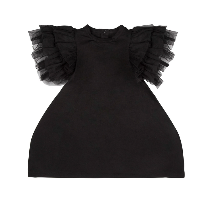 The Tiny Universe Tulle Wings Dress on Design Life Kids