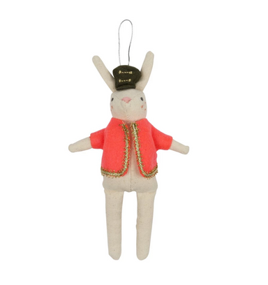 Rabbit Soldier Ornament