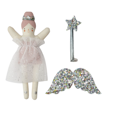 Meri Meri Evie the Fairy Doll Suitcase on Design Life Kids