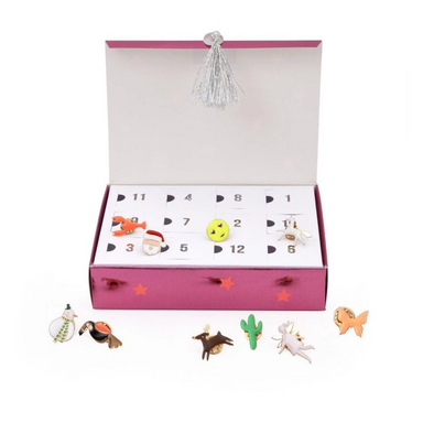 Meri Meri Enamel Pin Advent Calendar on Design Life Kids