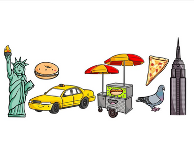 Emily McGaughey New York City Stickers on Design Life Kids